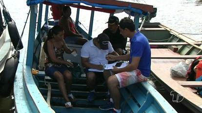 Cadastramento de embarcações encerra nesta segunda em Santarém