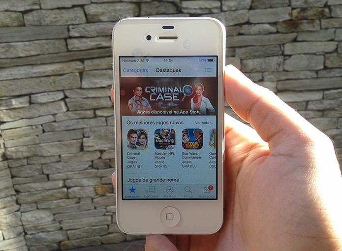 Como instalar aplicativos no iOS baixados através do computador? (Foto: Marvin Costa/TechTudo)