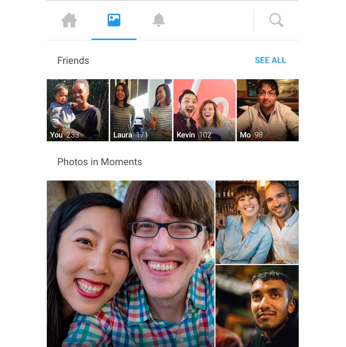 Facebook tornará sincronização de fotos do celular exclusiva ao Moments (Foto: Divulgação)