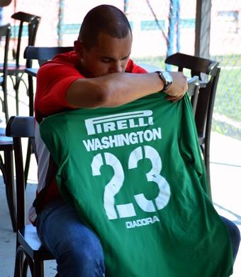 Washington atacante (Foto: Danilo Sardinha/GloboEsporte.com)