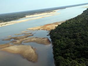 Vista área do Cantão, no Tocantins (Foto: Ademir dos Anjos/ATN Divulgação)