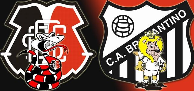 Santa Cruz enfrenta o Bragantino no sábado, dia 08 (Foto: Divulgação)
