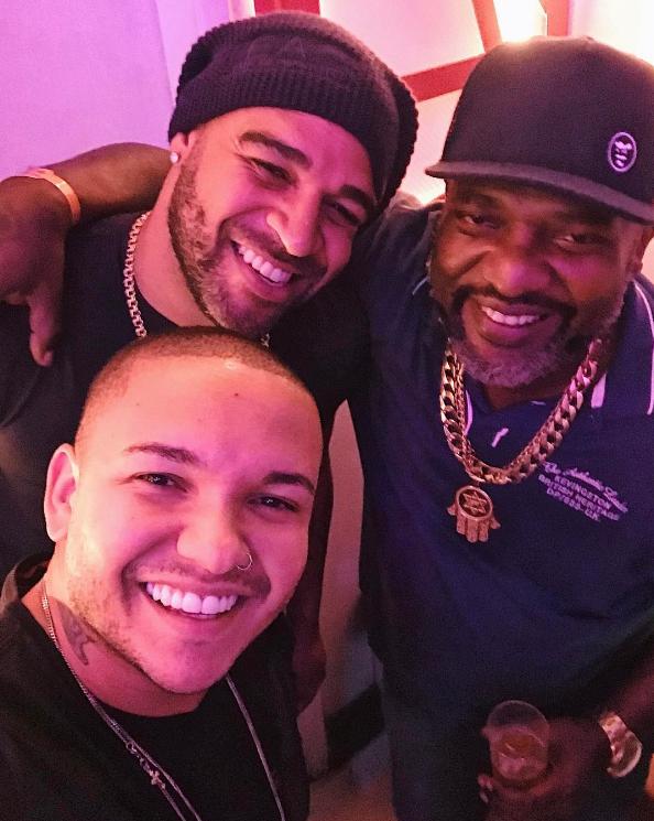 Suel, Adriano Imperador e Mr. Catra (Foto: Reprodução/Instagram)