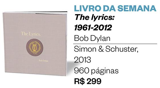 Livro da semana | The lyrics: 1961-2012 (Foto: Divulgação)