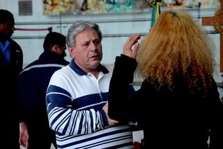 Velório de Cauby Peixoto (Foto: Eduardo Martins / AgNews)