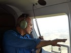 Governador sobrevoa o ES e diz que floresta do Sul ameniza seca