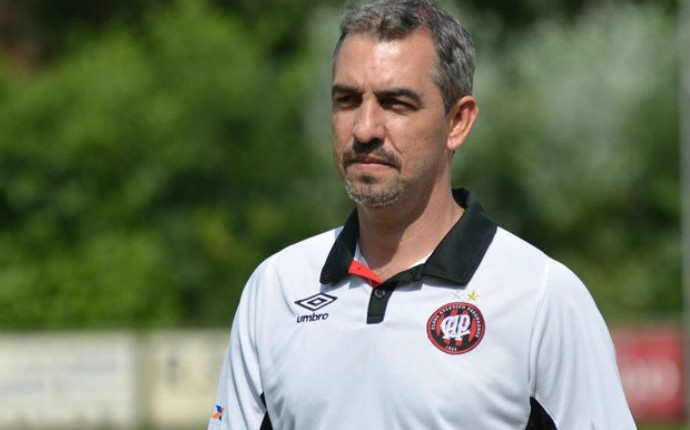 Marcelo Vilhena, coordenador das categorias de base do Atlético-PR (Foto: Divulgação/ Site oficial Atlético-PR)