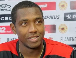 Renato Abreu coletiva Flamengo (Foto: Richard Souza)