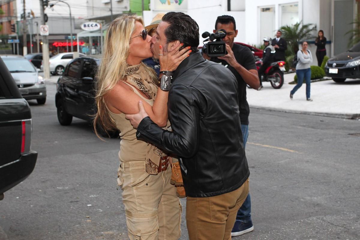 Adriane e Marcelo (Foto: Manuela Scarpa/Foto Rio News)
