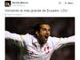Alvo de Santos e Fluminense na janela, Hernán Barcos anuncia retorno à LDU