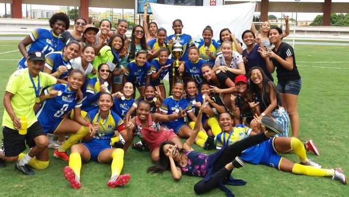 Paysandu x Esmac - futebol feminino (Foto: Abner Luiz)