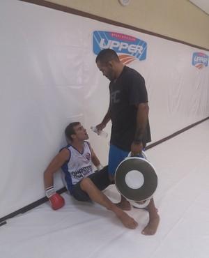 Treinamento de Choque (Foto: Alexandre Fernandes)
