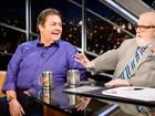 Entrevista de Faustão faz sucesso e internautas pedem Silvio Santos no Jô