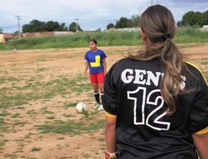 Genus realiza último treino antes do embarque para a Copa do Brasil (Foto: Larissa Vieira)