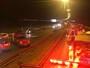 Motociclista morre e passageira se fere em batida na via Estrutural, no DF