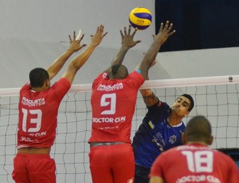 São José Vôlei x Voleisul Superliga (Foto: Tião Martins/ PMSJC)
