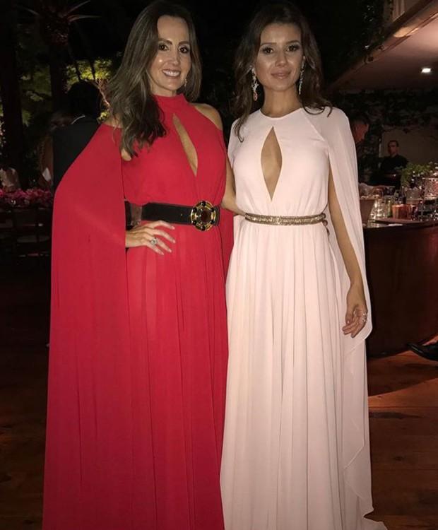 Melissa Wilman e Paula Fernandes (Foto: Reprodução/Instagram)