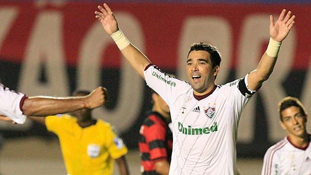 deco atlético-go x fluminense (Foto: Cristiano Borges/Photocamera)