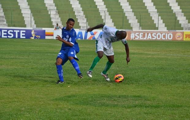 Sousa 0 x 1 Confiança, no Estádio Marizão (3ª rodada da Copa do Nordeste) (Foto: Jéfferson Emmanoel / Globoesporte.com/pb)