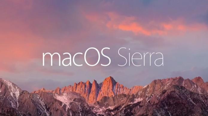Mac OS X muda para macOS Sierra (Foto: Divulgação/Apple)