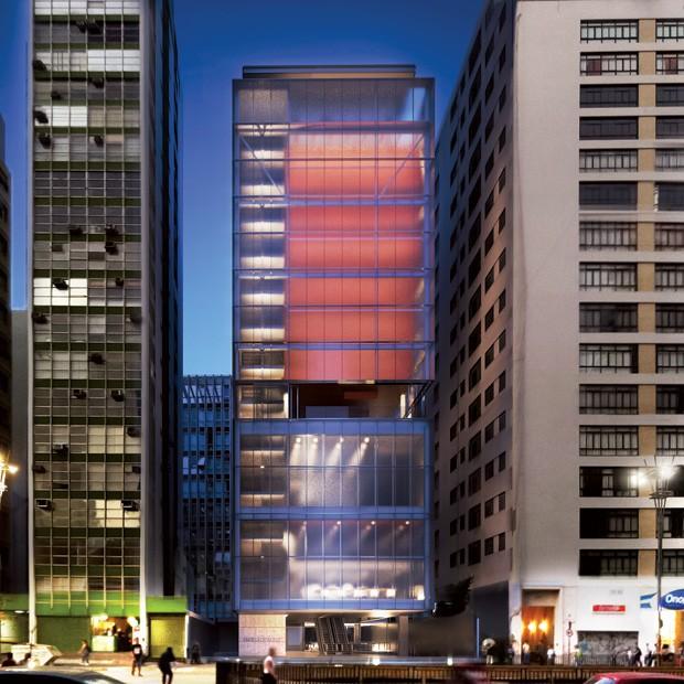 O novo IMS, na avenida Paulista (Foto: Divulgação)