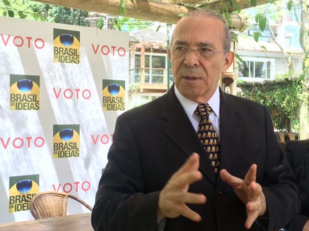 Eliseu Padilha falou sobre PEC do teto e reforma da Previdência (Foto: Rafaella Fraga/G1)