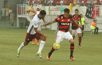 Contra o Inter, Fla tenta melhorar marca como mandante fora do Rio
