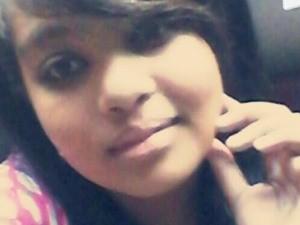Taynara Rodrigues da Cruz, 13 anos, assassinada em Goiânia, Goiás (Foto: Reprodução/ TV Anhanguera)