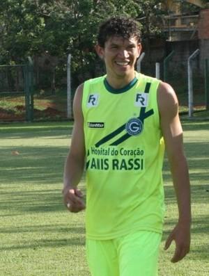 Júnior Viçosa, atacante do Goiás (Foto: Rosiron Rodrigues/Goiás E.C)