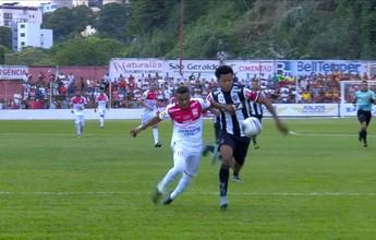 """Para Edcarlos, """"falta de referência e time leve"""" justificam empate sem gols"""
