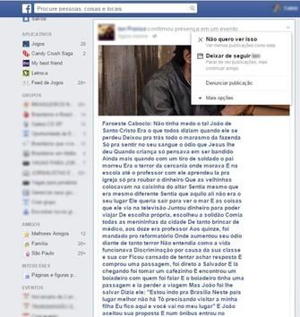 Bloqueie eventos de seu Feed de Notícias (Foto: Reprodução / Laura Martins) (Foto: Bloqueie eventos de seu Feed de Notícias (Foto: Reprodução / Laura Martins))