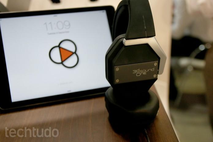 3D Sound One dá a sensação de que o áudio está ao redor do usuário (Foto: Fabrício Vitorino/TechTudo)