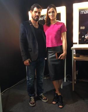 Juliano Cazarré e a esposa Letícia  (Foto: Arquivo Pessoal)