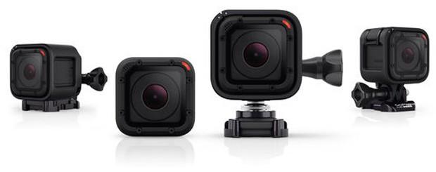 GoPro lança a Hero4 Session, sua menor câmera até o momento (Foto: Divulgação)