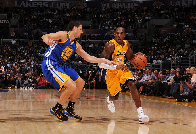 Klay Thompson x Kobe Bryant, Warriors x Lakers (Foto: Getty)