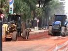 Comerciantes reclamam de prejuízo causado por obras em avenida