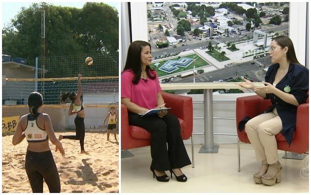 Nutricionista dá dicas de alimentação ideal para atletas, em Roraima (Foto: Roraima TV)