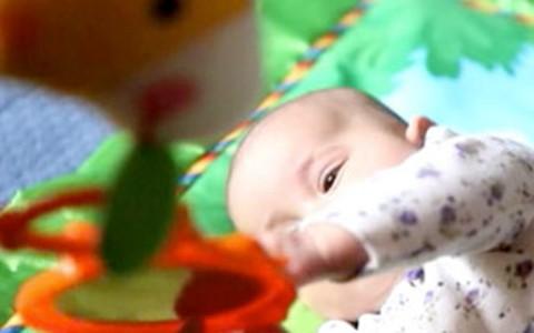 Brinquedos estimulam desenvolvimento dos bebês