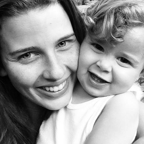 Debby Lagranha e a filha, Maria Eduarda (Foto: Reprodução)