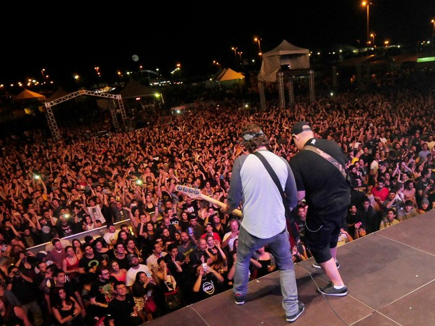 Festival Porão do Rock de 2014 (Foto: Facebook/Reprodução)