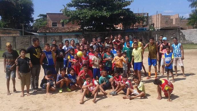 Escolinha do Barreiro (Foto: Arquivo Pessoal)