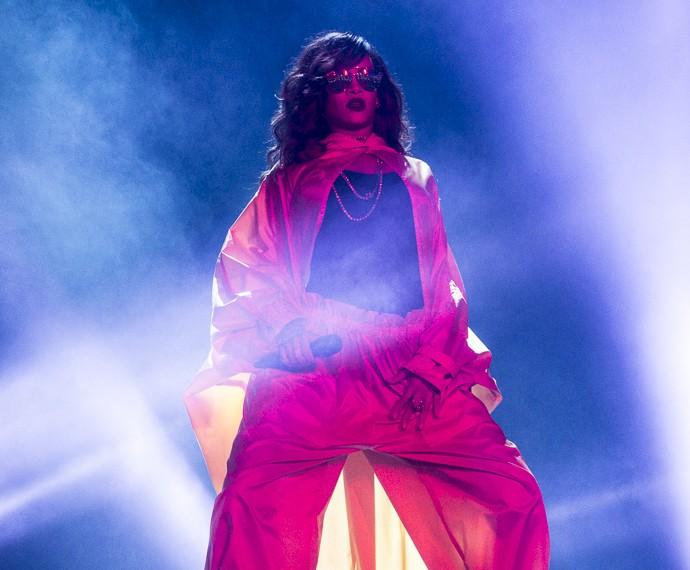 A diva dançou muito no palco do RiR (Foto: Felipe Monteiro/Gshow)