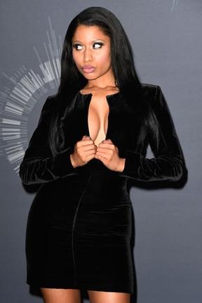 Nicki Minaj no VMA em Los Angeles, nos Estados Unidos (Foto: Frazer Harrison/ Getty Images/ AFP)