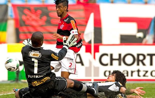 Jefferson, Flamengo x Botafogo (Foto: Agência AFP)