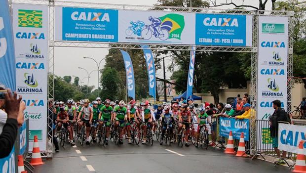 Maringá sedia Campeonato Brasileiro Júnior de Ciclismo, com o apoio da RPC (Foto: CBC/Divulgação)