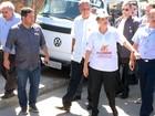 Contra o Aedes, Dilma visita Santa Cruz   (Henrique Coelho / G1)