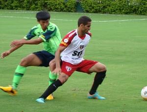 Douglas treino São Paulo (Foto: Divulgação/Site oficial do São Paulo FC)