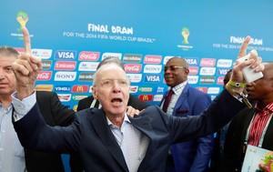 Zagallo sorteio Copa do Mundo (Foto: Jefferson Bernardes/Vipcomm)
