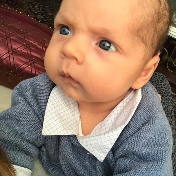 Filho de Bruna Hamú (Foto: Instagram/Reprodução)