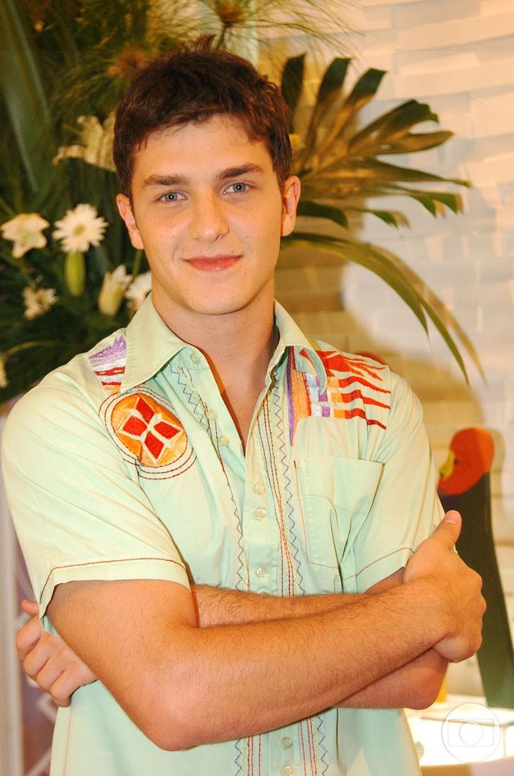 Klebber Toledo viveu Mateus em 'Malhação' (Foto: CEDOC/TV Globo)
